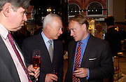 Roger Katz and Andrew Roberts. Book party for LAST VOYAGE OF THE VALENTINA by Santa Montefiore (Hodder & Stoughton) Asprey,  New Bond St. 12 April 2005. ONE TIME USE ONLY - DO NOT ARCHIVE  © Copyright Photograph by Dafydd Jones 66 Stockwell Park Rd. London SW9 0DA Tel 020 7733 0108 www.dafjones.com