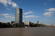 Once known as Vickers Tower, now Millbank Tower, this tall office building sits near the Houses of Parliament on the River Thames.