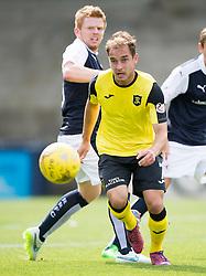 Livingston Scott Pittman. <br /> Raith Rovers 3 v 0 Livingston, SPFL Ladbrokes Premiership game played 8/8/2015 at Stark's Park.