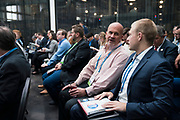 Bob Vanden Burgt from Yahara Technologies at the Wisconsin Entrepreneurship Conference at Venue 42 in Milwaukee, Wisconsin, Tuesday, June 4, 2019.