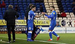 Mathew Stevens of Peterborough United replaces team-mate Matty Godden - Mandatory by-line: Joe Dent/JMP - 22/12/2018 - FOOTBALL - ABAX Stadium - Peterborough, England - Peterborough United v Walsall - Sky Bet League One