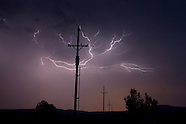 LIGHTNING WITH POWER LINES