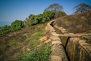 Trenches of Hill A1 'Eliane 2' in Dien Bien Phu, Muong Thanh Valley, Dien Bien Province, Vietnam, Southeast Asia