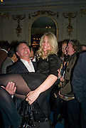 RAYMOND BLANC; NATALIA TRAXEL,  Tatler Restaurant Awards. Mandarin Oriental Hyde Park. Knightsbridge. London. 19 January 2009<br /> RAYMOND BLANC; NATALIA TRAXEL,  Tatler Restaurant Awards. Mandarin Oriental Hyde Park. Knightsbridge. London. 19 January 2009 *** Local Caption *** -DO NOT ARCHIVE-© Copyright Photograph by Dafydd Jones. 248 Clapham Rd. London SW9 0PZ. Tel 0207 820 0771. www.dafjones.com.