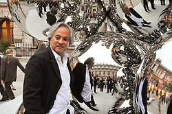 ANISH KAPOOR attends the private view of Anish Kapoor's latest exhibition at the Royal Academy of Arts, Piccadilly, London on 22nd September 2009