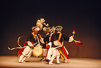 Farmers' Dance, Korean traditional music and dance performance, Korea House, Seoul, South Korea