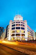 De Lichttoren in Eindhoven (voormalig Philips-gebouw).