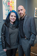 NO FEE PICTURES<br /> 12/4/18 Audrey Dalton, Wicklow and Ronan Phelan, Wicklow at the launch of Jenny Huston and Leah Hewson's jewellery and fine art collaboration, Edge Only x Leah Hewson at The Dean Dublin. Arthur Carron