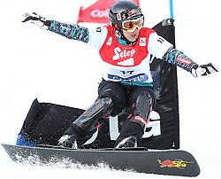 09.01.2011, Bad Gastein, AUT, FIS Weltcup Snowboard, Bad Gastein, im Bild ..Ina MESCHIK (AUT) while competing in the LG Snowboard FIS World Cup 2011 in Bad Gastein..Foto: Sven Kiesewetter / SK-Foto.info