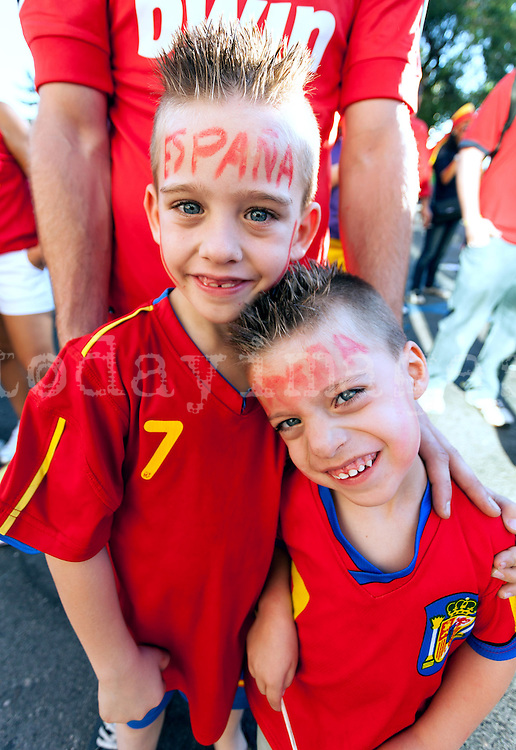Euro Cup 2012: victory of Spain