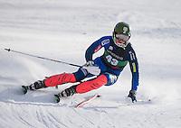 Dartmouth Carnival Slalom.  ©2016 Karen Bobotas Photographer